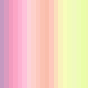 "pastel wild and crazy rainbow 1"" inch stripes vertical"