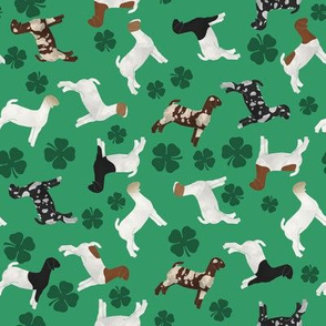 Goats and Clover