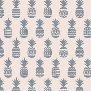 Ananas pineapple boho garden sweet neutral nursery theme cool gray on nude beige sand