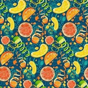citrus pop art (small scale)