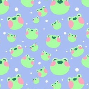 Super Cute Froggy Pattern