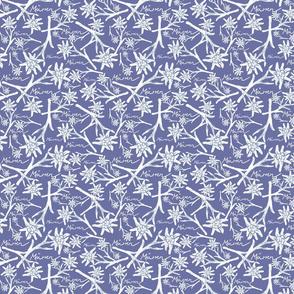 Edelweiss - Mürren - Fabric