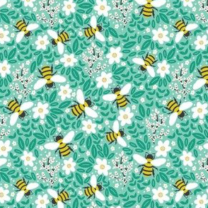 Blooms & Bees Extra Small