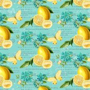 Lemon Zest Fruity Blue