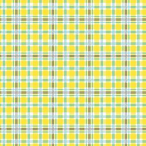 Lemon Zest Essential Plaid