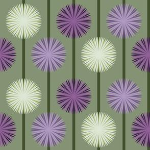 Allium Flower Stripe large