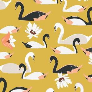 Swan Garden Yellow