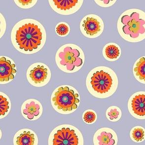 Flowers in bubbles