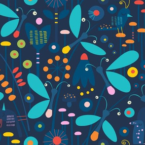 Wondering Fireflies