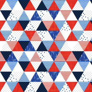 4th of July Triangles
