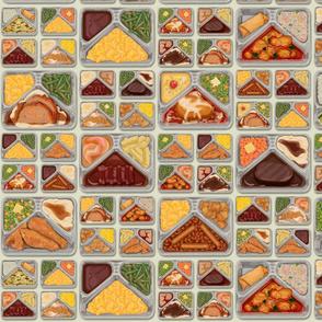 TV Dinner Pattern_Cream