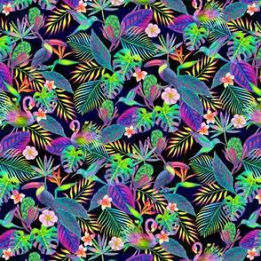 Abundant Neon Paradise - X Small