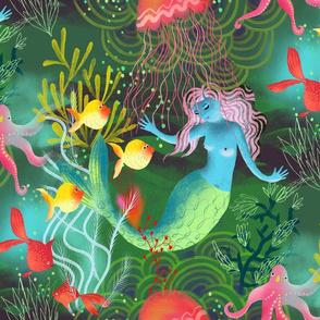 magic mermaid ocean //smaller