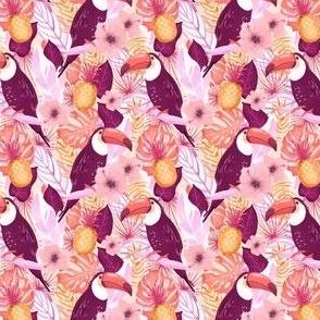 Toucan and tropical botanics - Jumbo Print