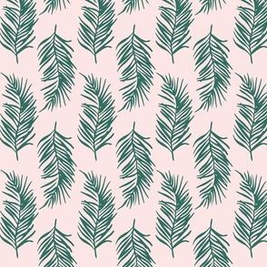 Green star pattern