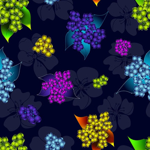 Bioluminescence Floral Collection