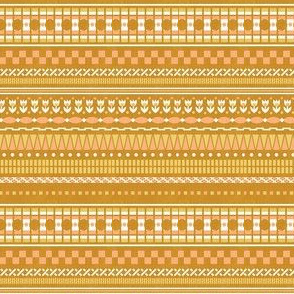 Bethany Multistripe - Strong Gold