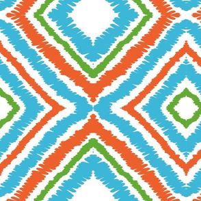 WASHAA - Ikat Print