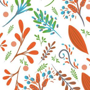 WASHAA - Floral Print