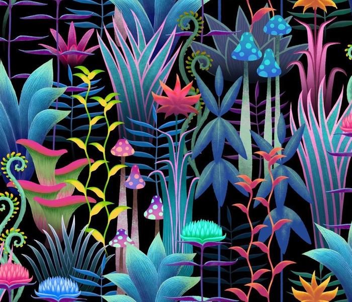 Perelin, the bioluminescent jungle