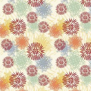 iceflowers multicolored
