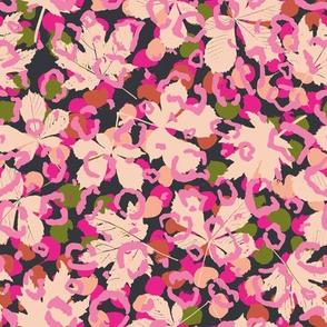 Pattern clash hot pink