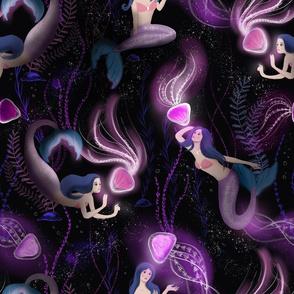 Magical ocean - mermaids