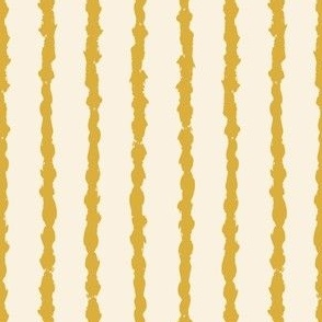 Painted lines mustard