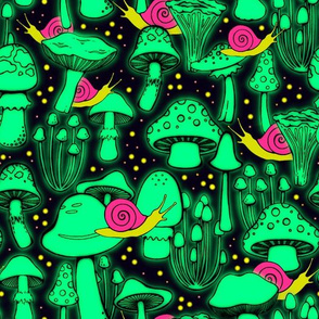 Glow Shrooms//Large Scale