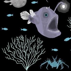 Deep Sea Scene