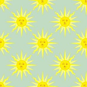 summer sun green