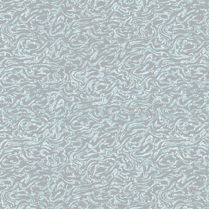Element Swirl- Grey and Blue