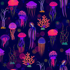 Glow in the dark Jellies