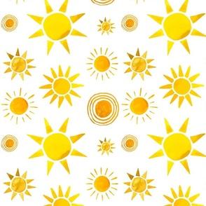 Sunshine on My Shoulder