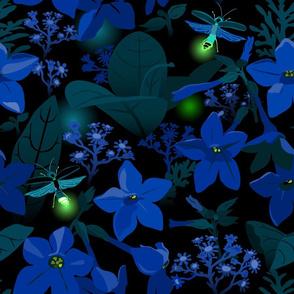 Fireflies, twilight splendor