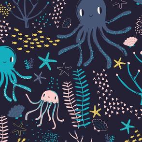 """24"""" Jumbo Underwater Pals"""