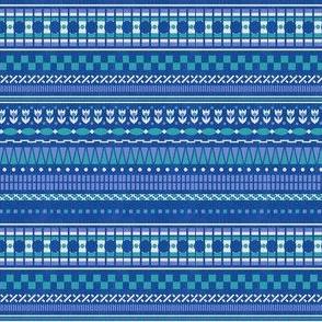 Bethany Multistripe - Bleu Aimable
