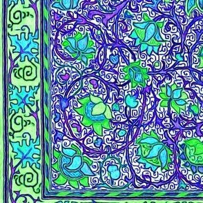 holland park blue and green