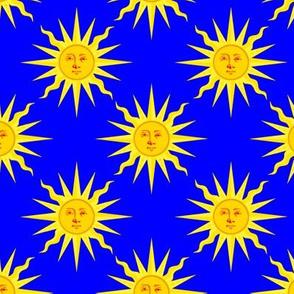 summer sun cobalt blue