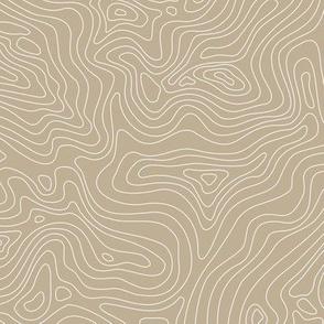 Fingerprint of the Land - Tan