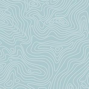 Fingerprint of the Land - Malibu and White