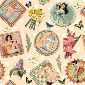 PIN-UP GARDEN (APRICOT)