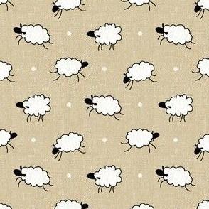 Jumping Sheepies - Tan - Autumn Musick 2020