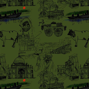 Drawings of India