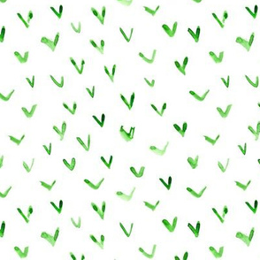 Kelly green vibes - watercolor check marks p288