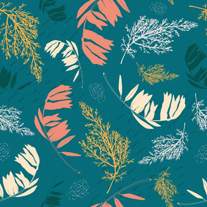 The Olive Branch teal