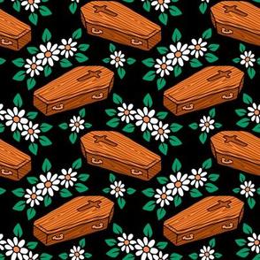 Caskets & Flowers by Casper Spell