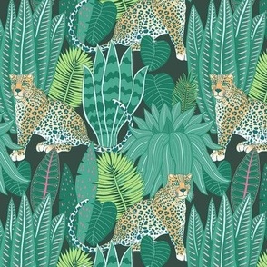 "Jungle Leopard (6"") - green"