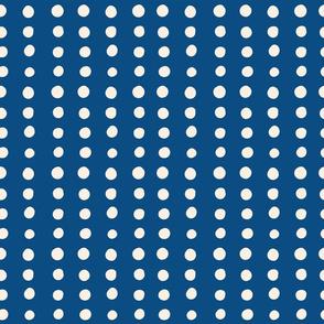 Classic Blue Polka Dots