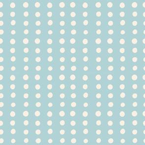 Sea Foam Polka Dots